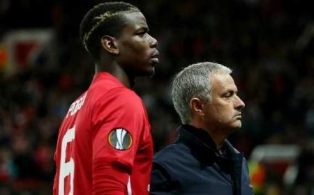 Pogba Mourinho Foto teamtalk