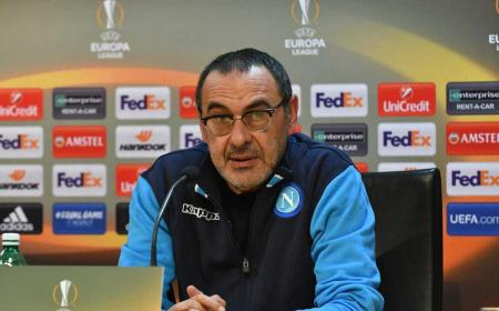 Sarri conferenza Europa League Napoli Twitter