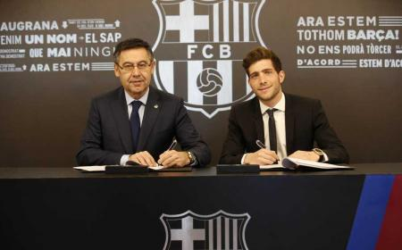 Sergi Roberto rinnovo 2022 Barcellona Twitter