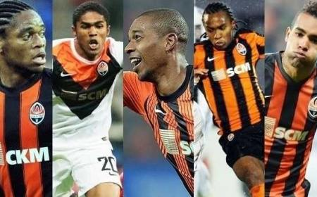 collage brasiliani Shakhtar