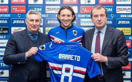 Barreto Twitter ufficiale Sampdoria