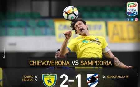 Chievo Samp 2-1