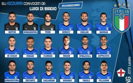 Convocati Italia vs Argentina e Inghilterra