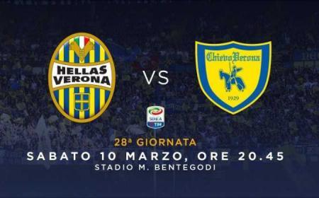 Hellas Verona Chievo grafica