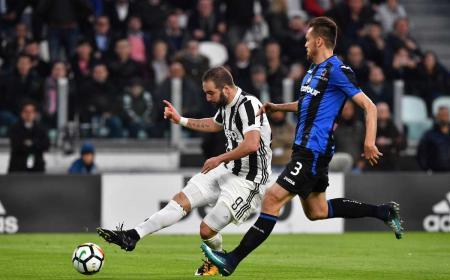 Higuain gol vs Atalanta Foto Juventus Twitter