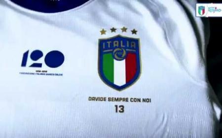 Italia Nazionale maglia per Astori Foto vivoazzurro