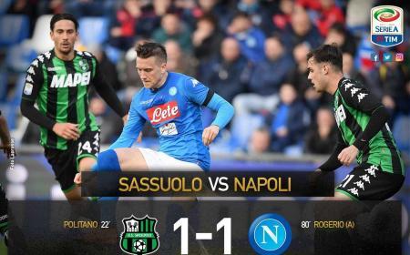 Sassuolo Napoli 1-1