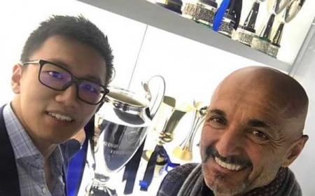 Steven Zhang e Spalletti Instagram Zhang