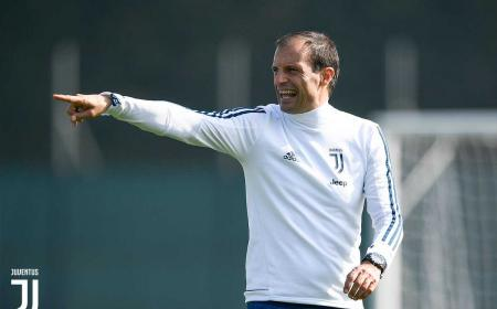 Allegri training post Madrid Juventus Twitter
