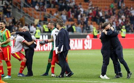 Benenvento vs Milan Foto pagina facebook Benevento