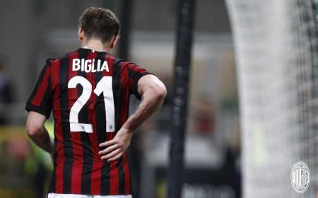 Biglia vs Benevento Foto Milan Twitter