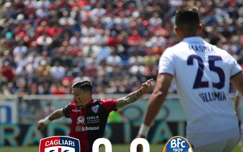 Cagliari Bologna 0-0