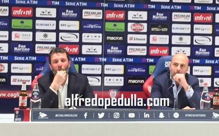 Carli e Giulini conferenza Cagliari