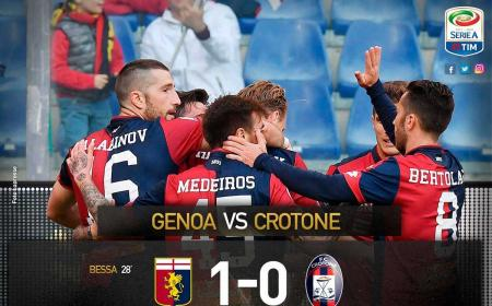 Genoa Crotone Bessa 1-0