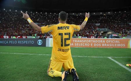 Julio Cesar addio al calcio Flamengo Twitter