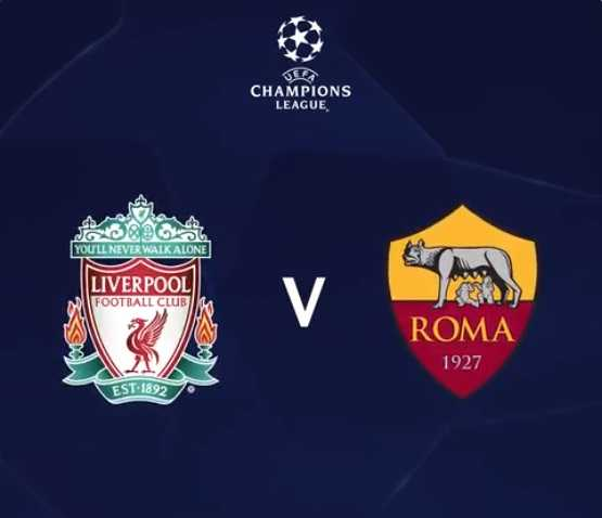 Liverpool Roma grafica Champions League Twitter