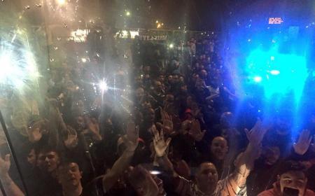 Napoli accoglienza tifosi posto Juve Foto Napoli Twitter