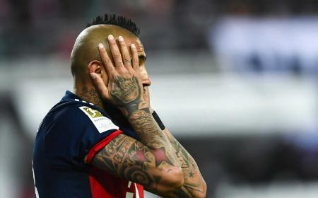 Vidal Bayern Monaco 2018 Foto Marca
