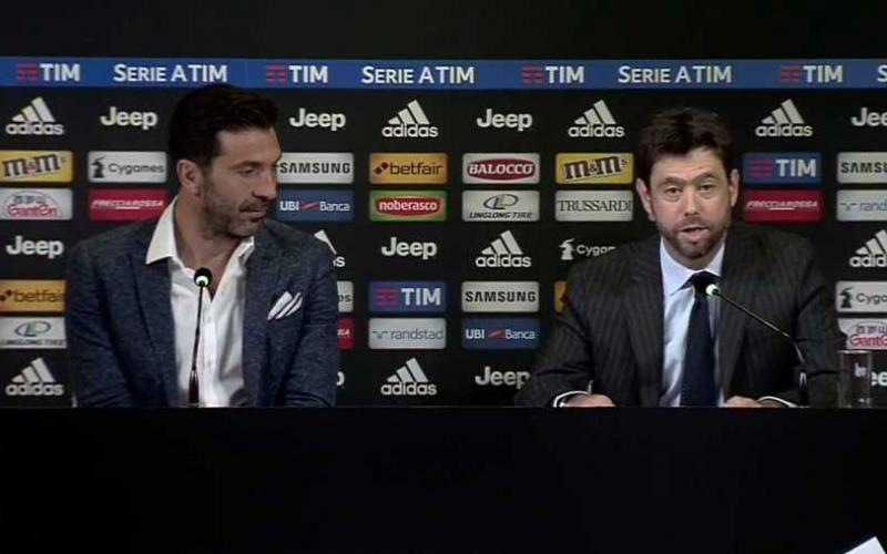 Buffon conferenza addio al calcio Foto Juventus sito ufficiale