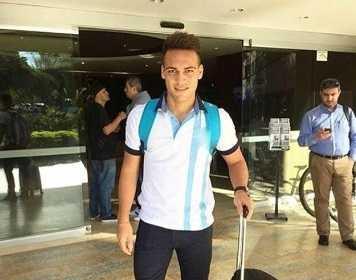 Lautaro Martinez storia Instagram partenza per Milano