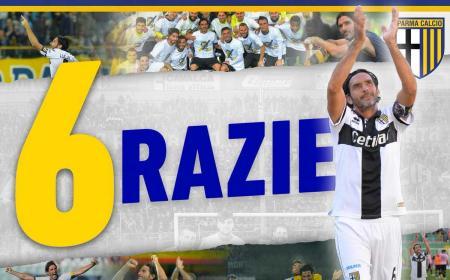 Lucarelli addio al calcio Parma Twitter