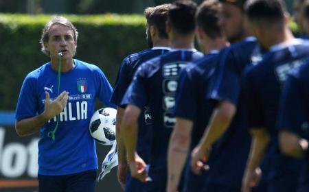 Mancini training Nazionale Twitter