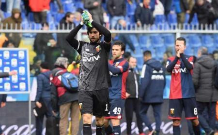 Perin saluto tifosi Genoa Foto Twitter personale