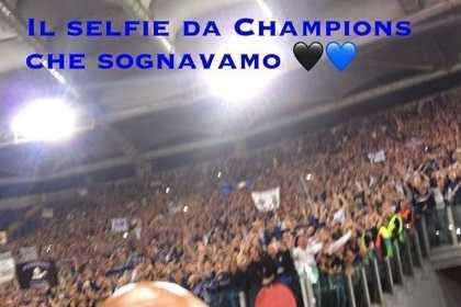 Spalletti selfie Champions Instagram personale